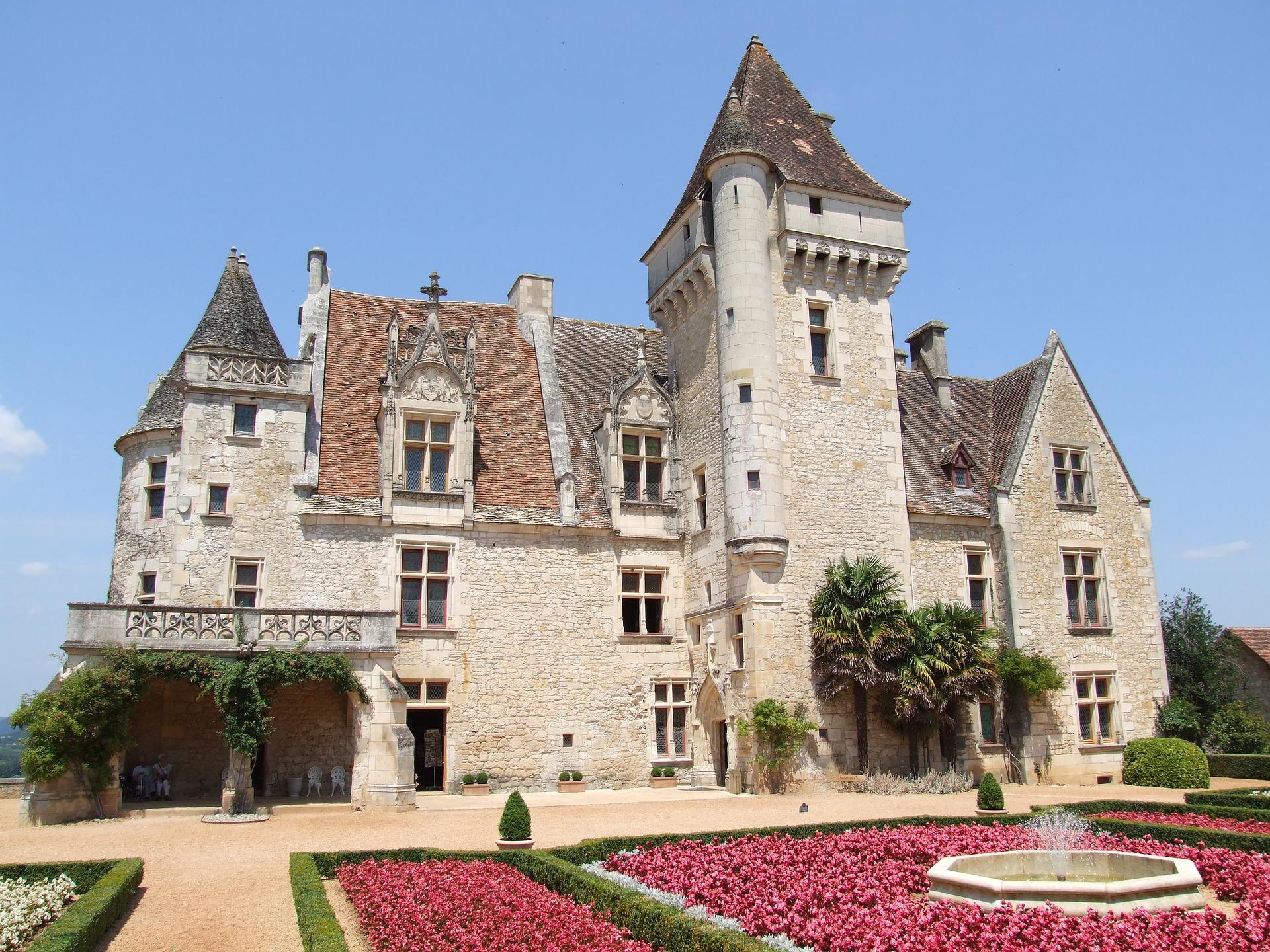 Château-des-Milandes-Dordogne