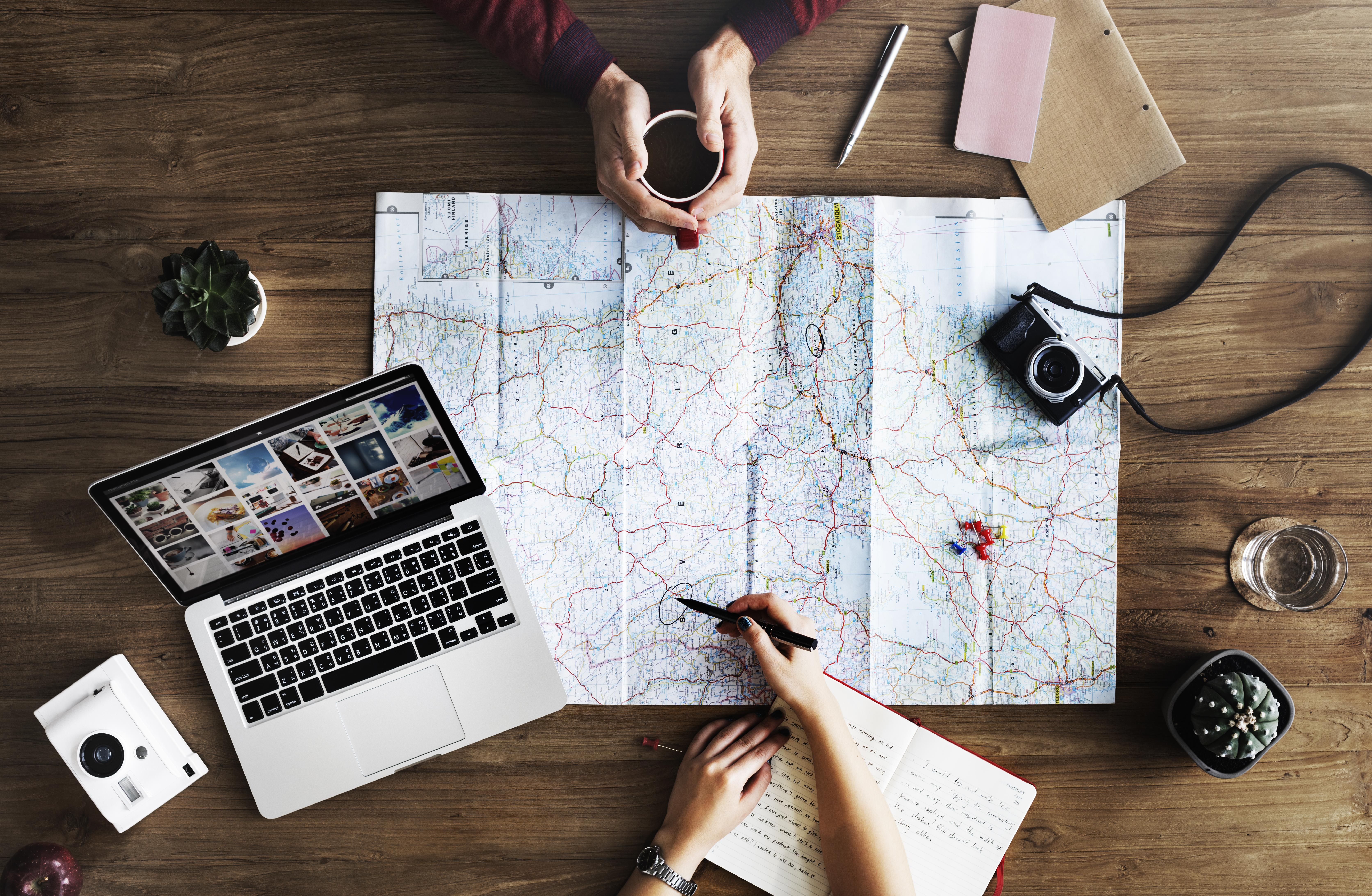 Voyage-Carte-Itinéraire